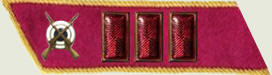 Insignes de grade soviétiques Rkka4310