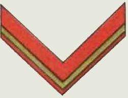 Insignes de grade soviétiques Rkka4410