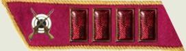Insignes de grade soviétiques Rkka4411