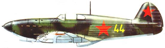 L'Armée de l'Air Soviétique 1941 à 1945 Yak_1_10