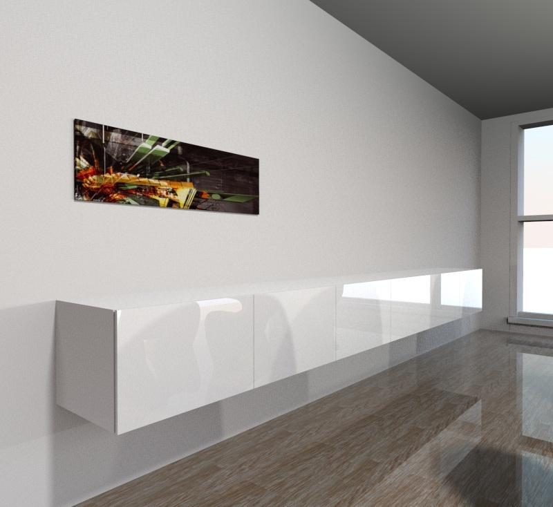 elements besta suspendus pour cr er un buffet. Black Bedroom Furniture Sets. Home Design Ideas