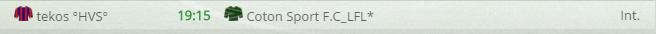 Points infos matchs IE et IS saison81 - Page 7 368