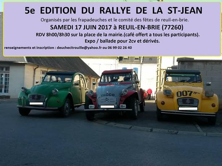 5 e Edition du Rallye de la St Jean Reuil_10