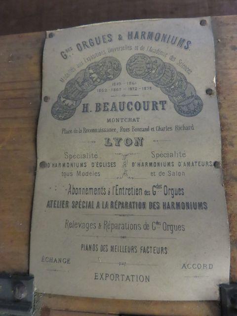 Beaucourt 5 1/2 jeux + percussion Beauco13