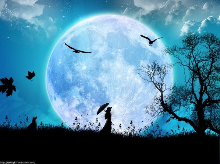 The Moon/La Lune. - Page 2 Femme-11