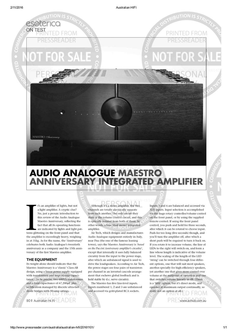 Maestro Anniversari by-Airtech  Listen10