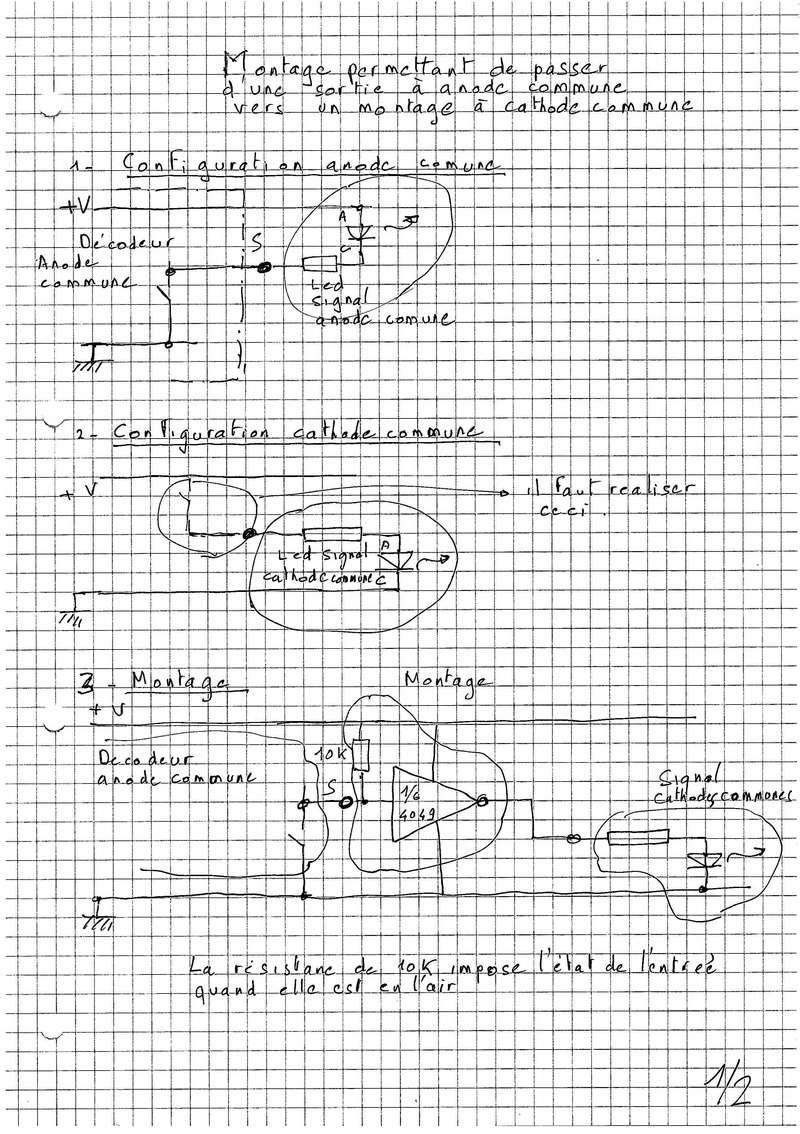 Signaux à cathode commune Signal12