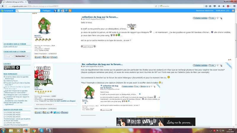 collection de bug sur le forum... Bug11