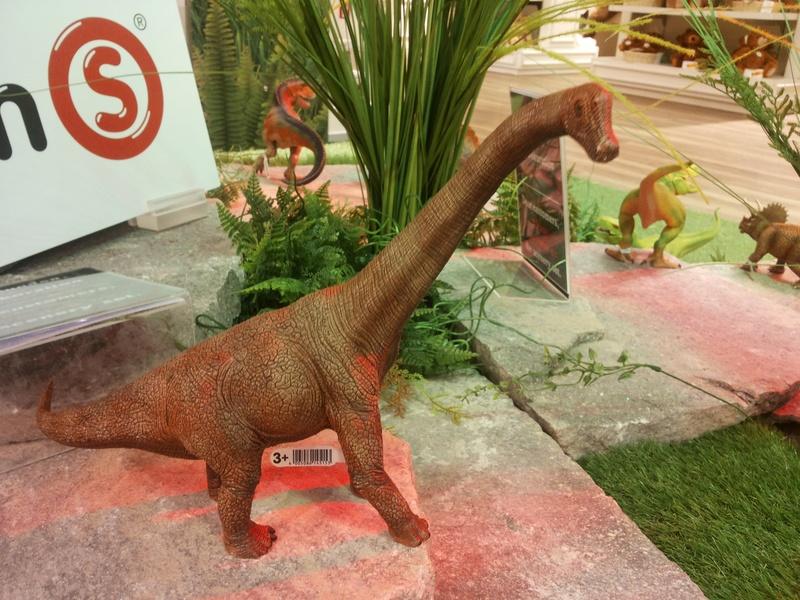 Schleich and Bullyland figures in store Kaufhof Munich 20160512