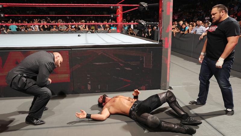 [Forme] Seth Rollins blessé par Samoa Joe ? (Mis à jour) 238_ra10
