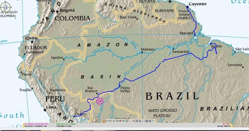 Transamazonica (Cusco Itaituba Bélem Cayenne) 110