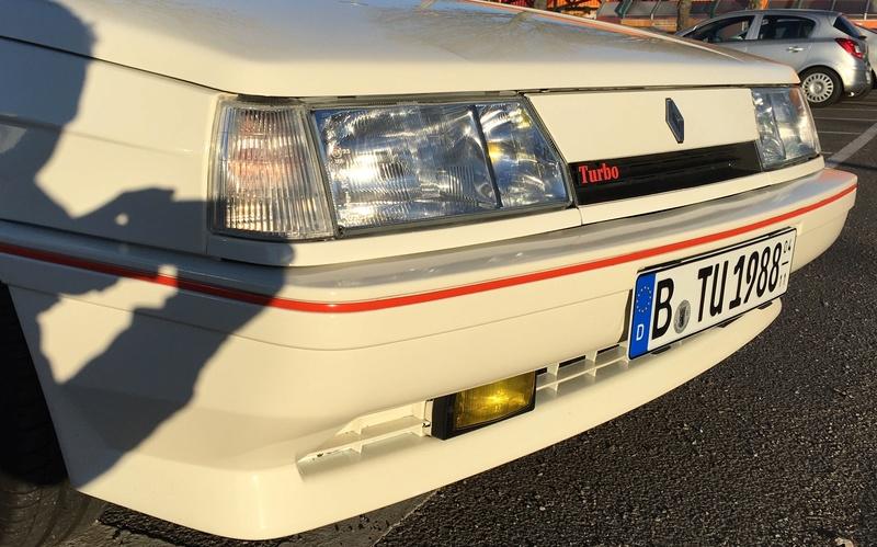 R11 Turbo ph2 1988 white ....23.000km Image11