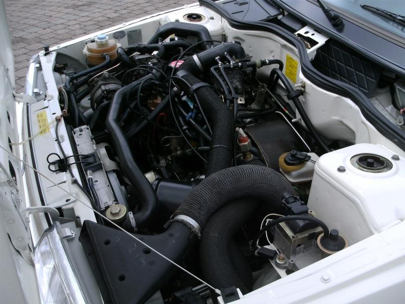 R11 Turbo ph2 1988 white ....23.000km Image13