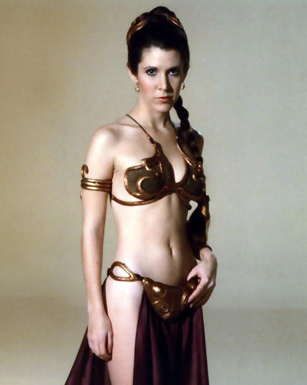 Prinzessin Leia hat ihre letzte Reise angetreten... Carrie10