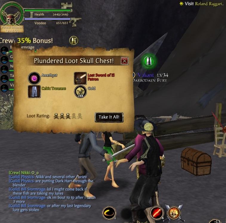 Level 26 pirate gets El Patron sword Patron10