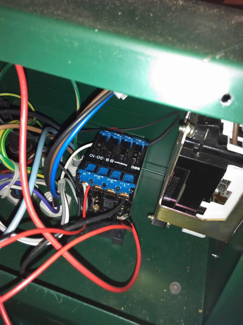Passage en mono de ma Lurem C260SI Contac10