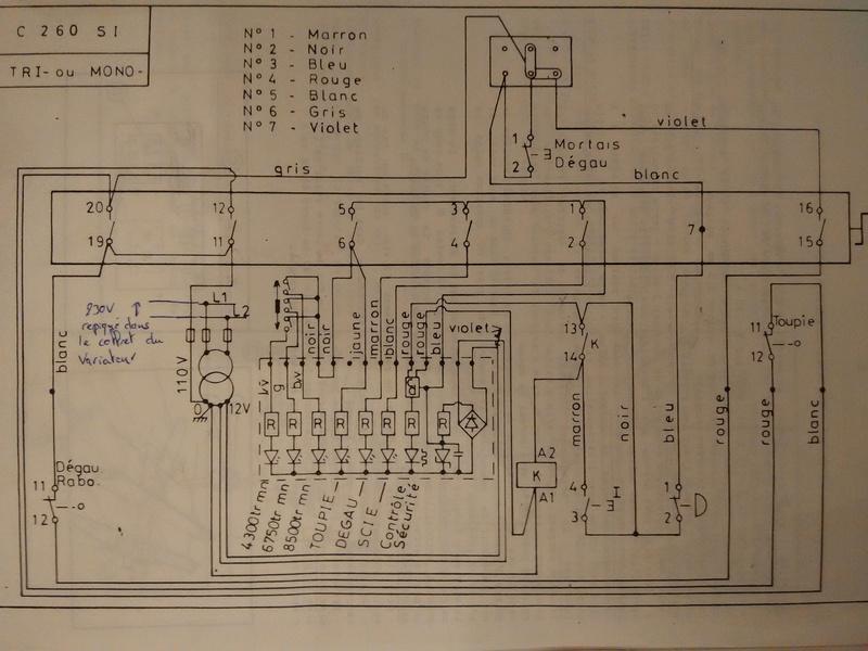 Passage en mono de ma Lurem C260SI Img_0912