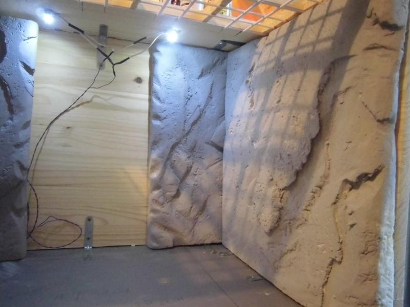 Palais de Jabba, Rancor grotte xxl Cimg2537