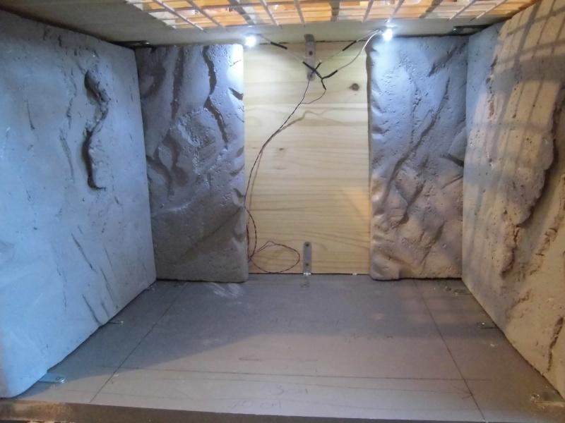 Palais de Jabba, Rancor grotte xxl Cimg2538