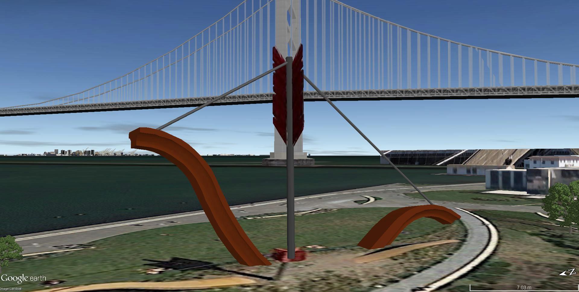 Arc géant (41m) à San Fransisco, Californie - USA Arc_vu10