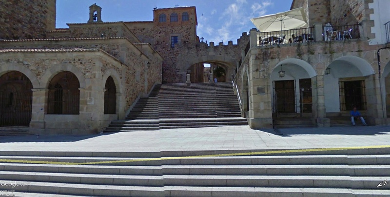 La ville de Cacérès en Espagne Patrimoine de l'Humanité !!  Cacyry11