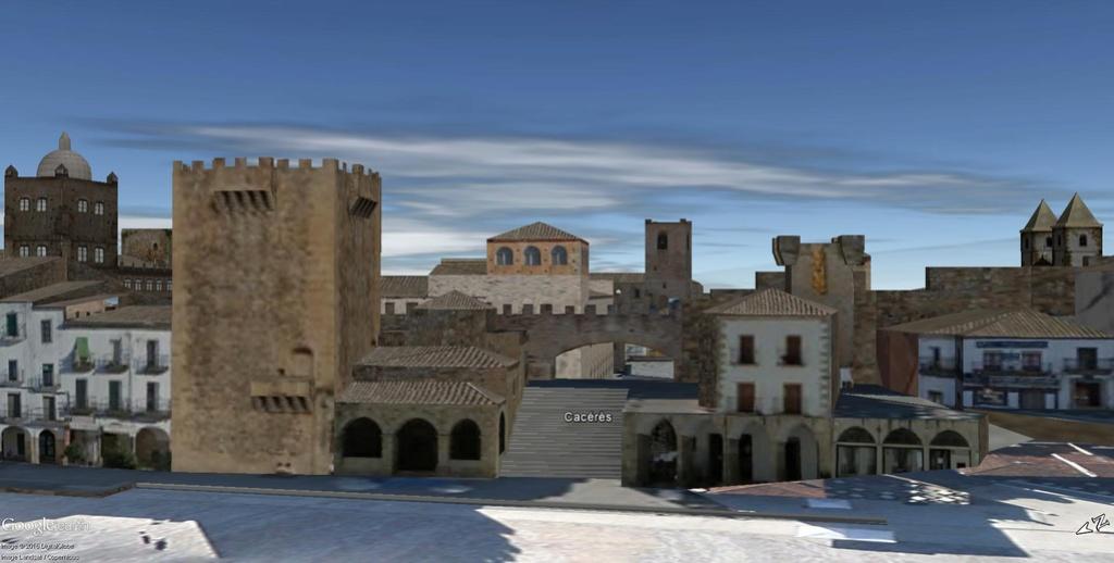 La ville de Cacérès en Espagne Patrimoine de l'Humanité !!  Cacyry13