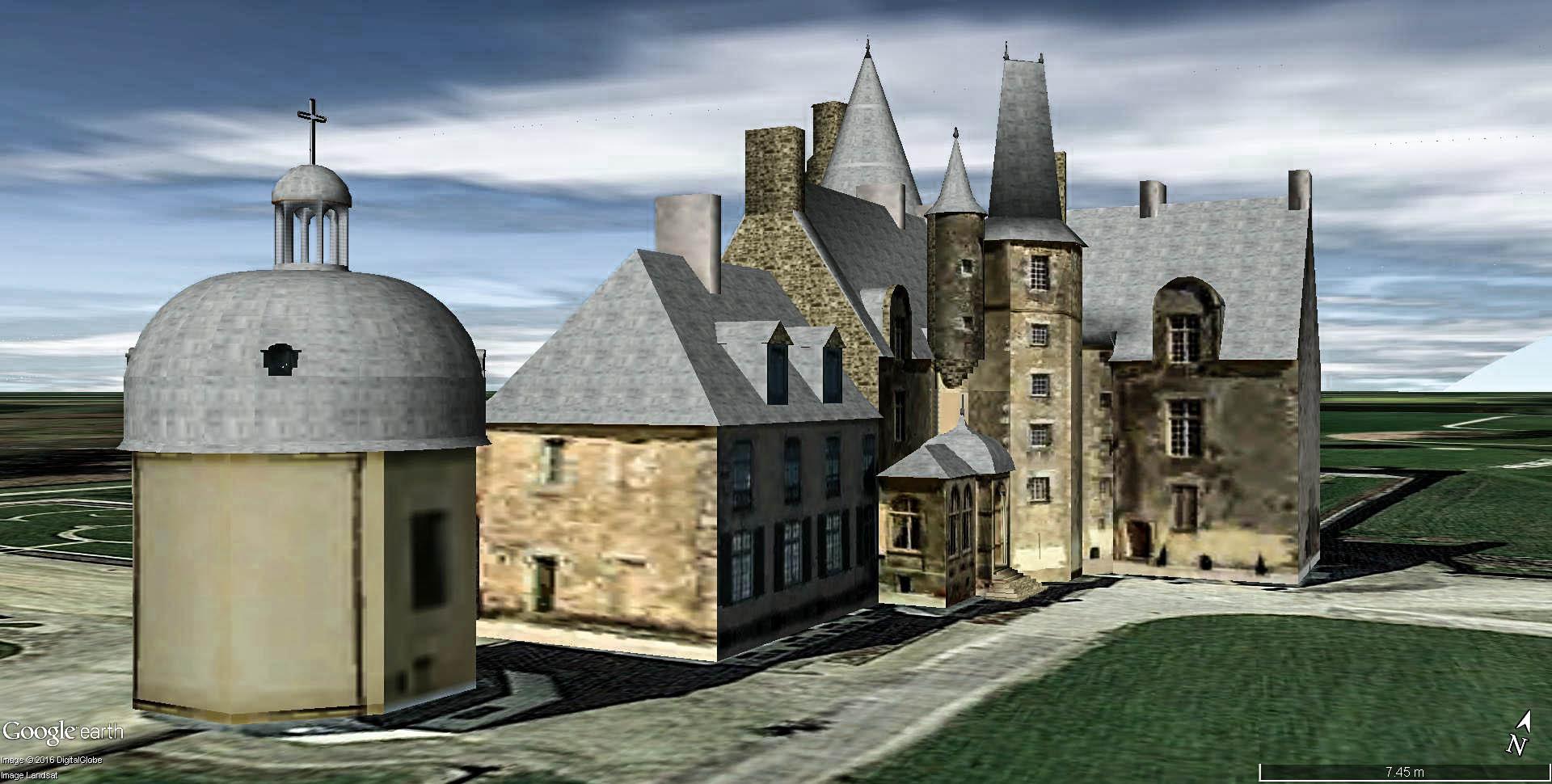Château des Rochers-Sévigné à Vitré en France. Chytea13