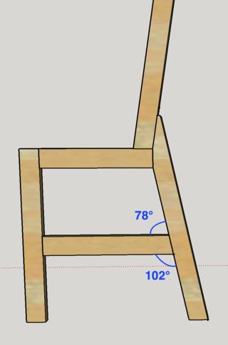Chaise porte-serviette + tiroir 00_ang11