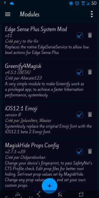 [THEME] Substratum : changer la couleur de fond pour certaines applications Screen31
