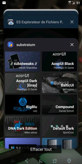 [THEME] Substratum : changer la couleur de fond pour certaines applications Screen32
