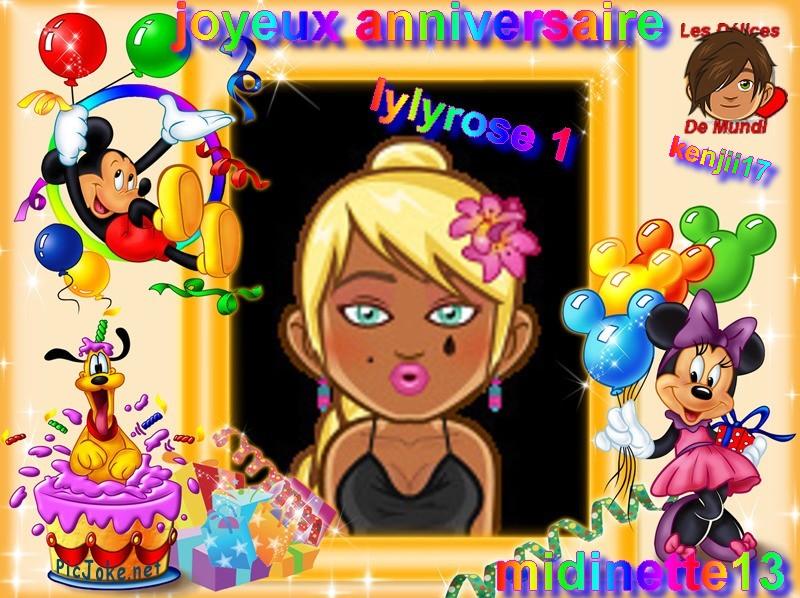 joyeux anniversaire ma lylyrose  et de yvesmuller Lylyro13