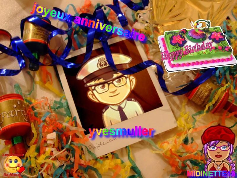 joyeux anniversaire ma lylyrose  et de yvesmuller Yvesmu10