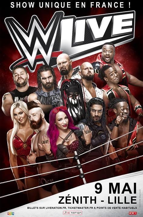 Tournées Européennes de la WWE en 2017 #1 15036610
