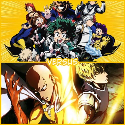 [VERSUS] My Hero Academia VS One Punch Man Vs610