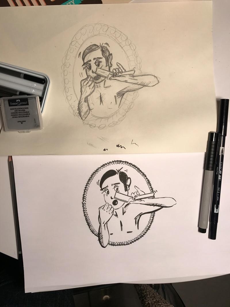 Recherche dessinateur pour mon avatar de ma chaîne RT sur youtube Img_2110