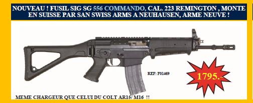 Fusil en .223 55610