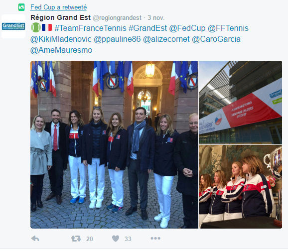 FED CUP 2016 : Groupe Mondial  - Page 9 Captur10