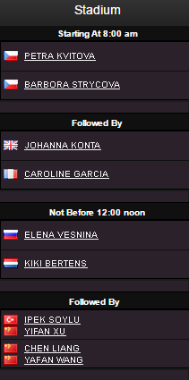 WTA ELITE TROPHY 2016 Sans_t17
