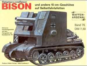 Bison und andere 15cm - Geschütze auf selbstfahrlafetten. Sans_t38