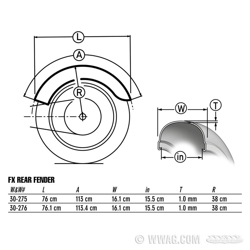Sabres Shovel FX sur FLH 4211710