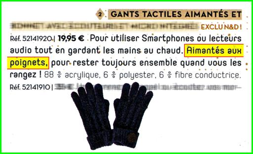 Attention à la magnétisation des montres  - Page 7 Gants_10