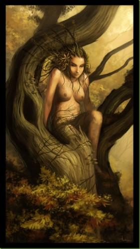 L'Eden, Adam et Eve Dryade10