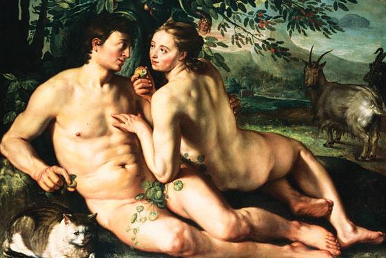 L'Eden, Adam et Eve Interc10