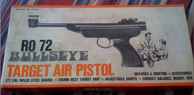 pistolet pour tir 10 m Gfjoka10