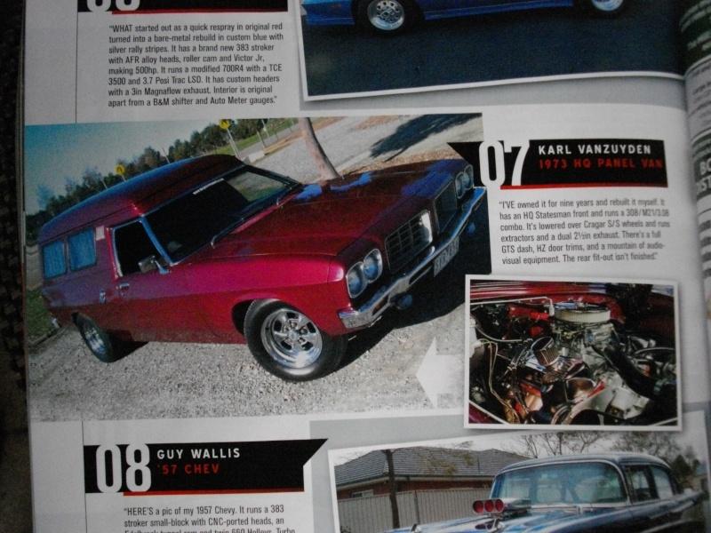 Karls Van In Street Machine 00910