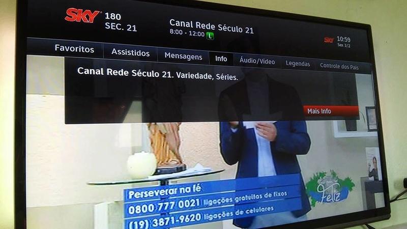Novo canal na SKY: Rede Século 21 16473410