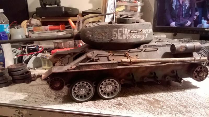 My New HL T-34 / The Suspension mod / Paint / Etc. - Page 3 Wp_20131