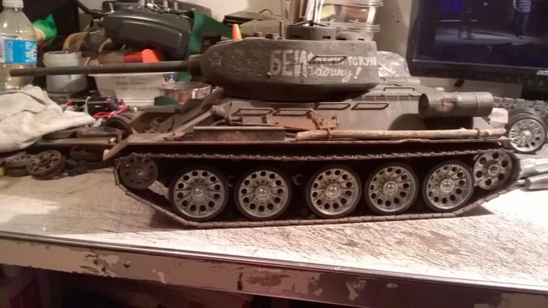 My New HL T-34 / The Suspension mod / Paint / Etc. - Page 3 Wp_20132