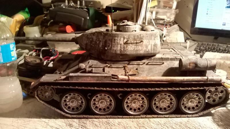 My New HL T-34 / The Suspension mod / Paint / Etc. - Page 3 Wp_20134