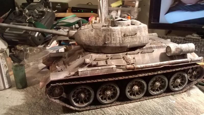 My New HL T-34 / The Suspension mod / Paint / Etc. - Page 3 Wp_20136